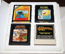 Lot Of 9 Vintage Atari 2600 Games Cartridges