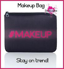 Maquillaje De Bolso Bolso Cartera #makeup Girly Negro Con Rosa Twitter Instagram Moda