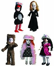 LIVING DEAD DOLLS SERIES 23 TEA TIME GOTHIC HORROR FIGURE COLLECTIBLE TOY SET
