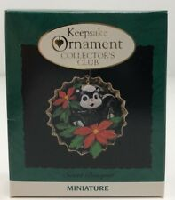 Hallmark Keepsake Sweet Bouquet Miniature Ornament Collector's Club 1994 Holiday