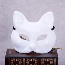 Halloween Party PVC Half Cat Face Mask Dancing Dress Costume Masquerade Props