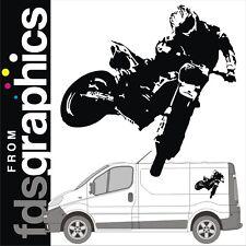 700mm x 720mm freestyle motocross van stickers/decals