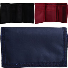 Mens / Gents / Kids Small Canvas Style Wallet / Money / Coin Holder / Pouch
