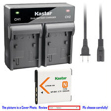 Kastar Battery Rapid Charger for Sony NP-BN1 BC-CSN & Sony Cyber-shot DSC-TX10