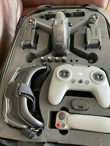DJI FPV Drone Combo + Fly More + Motion Controller - Perfect  (Read Description)