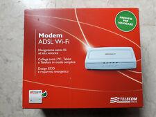 Modem ADSL2+ Wi-Fi N Tim Telecom