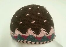 Moroccan Lavorato a Maglia Lana hats.100% Wool.made IN Morocco.one