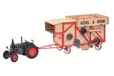 Lanz Bulldog mit Dreschmaschine von Dickie-Schuco 1018