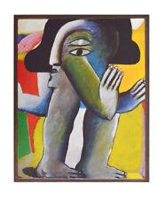 Horst antes son impresiones artísticas póster imagen con menos frecuencia presión de luz personaje zweiäugige 58x48 cm