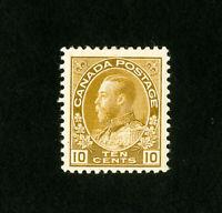 Canada Stamps # 118 VF OG LH Catalog Value $40.00