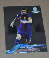 2017-18 Topps Chrome UEFA Champions League Lionel Messi #1 Barcelona