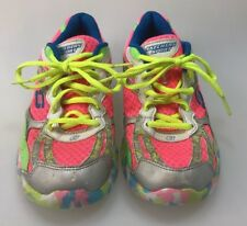 Skechers Synergy size 5 80883L multi color PMLT pink neon green