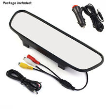 5 Inch Color TFT LCD Display Reversing Monitor Mirror 2 in 1 Car Video Screen