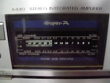 New listing Jvc A-X40 Mid 80's Sound Effect Stereo Integrated Amplifier Made in Japan