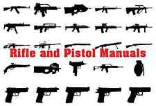 Gun Owners Rifle and Pistol Manuals (Pdf Format) on Dvd plus printable targets