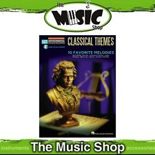 New HL Easy Instrumental Play Along: Classical Themes for Clarinet Music Book
