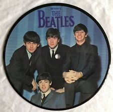 "THE BEATLES - A Hard Days Night - Rare UK 7"" Picture Disc (Vinyl Record)"