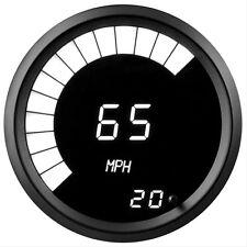"Digital Speedometer 3 3/8"" White LEDs! Black Bezel Made in USA! Intellitronix"