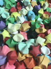 1000 Origami Lucky Stars - Random Solid Colors
