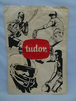 "VINTAGE 60s TUDOR Sports Football Paper Bag Sack 21"" x 15"""