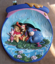 Winnie the Pooh 3D plate Coa Its Just A Small Piece Of Weather raining umbrell>D
