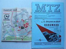 MTZ Motortechnische Zeitschrift 1951 Nr.2 mit 30 PS Nordberg Motoraggregate
