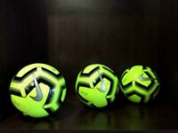 Nike Pitch Soccer Ball Cyber Yellow - SC3893-703 SIZE 5-4-3 Available