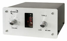 Dynavox Pipes-Phono-Preamp TPR-2 ( MM / Mc / Line) Silver/Silver