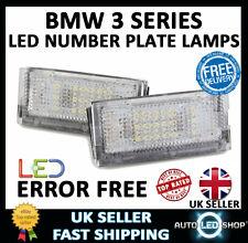 BMW E46 5 PORTE Estate White SMD LED Numero Targa Lampada Lampadina Upgrade unità