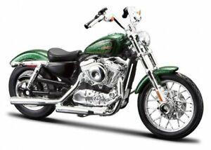 HARLEY-DAVIDSON XL 1200V Seventy-Two - 2012 - greenmetallic - Maisto 1:18