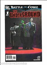 Batman: Battle For The Cowl The Underground #1|Continues in Gotham City Sirens 1
