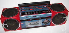 Awesome! Vintage Mecca Acn-4050 Am/Fm Stereo Radio Cassette Recorder 6 Speakers
