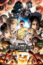 ATTACK ON TITAN - SEASON 2 COLLAGE - POSTER 24x36 - 160722