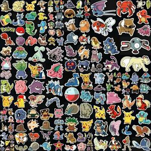 Pokemon 160 Designs! Go Laptop Car Phone Bike Helmet Decal Vinyl Sticker