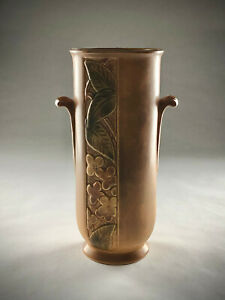 Antique Weller LouwelsaLonhuda Vase Weller Louwellsa Signed Bud Vase  Flower VaseCenterpieceHousewarming GiftBest Gift Idea F1122