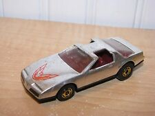 Hot Wheels Black Walls 80's Pontiac Firebird Chrome Silver GHO 1:64