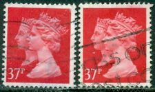 Great Britain Sg-1474, Scott # Mh-198, Used, 2 Stamps, Great Price!