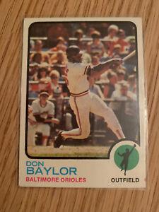Vintage 1970s Don Baylor Topps  MLB USA Baseball TRADING CARD