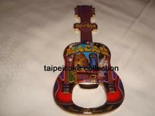 Hard Rock Hotel Macau City Guitar Bottle Opener Magnet OLD VERSION