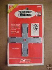Truck Brake Lining Gauge #2413