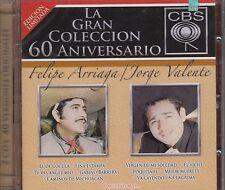 Felipe Arriaga y Jorge Valente 2CD La Granc Coleccion New Nuevo