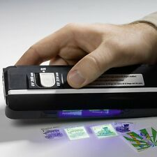 PORTABLE UV HAND LAMP FOR FLUORESCENCE & PHOSPHORESCENCE ON STAMPS / BANKNOTES