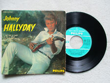 """45T 7"""" JOHNNY HALLYDAY """"Nous , quand on s'embrasse"""" PHILIPS 432.592 BE FRANCE §"""