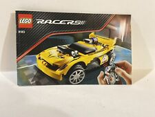 LEGO Racers Set 8183 Instruction Manual Only