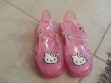 Lotto 82 ciabattine scarpe sandali mare piscina bimba bambina hello kitty n.29