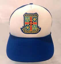 Royal Cruise Line Golden Odyssey Blue Trucker Hat Cap, ocean ship england H3