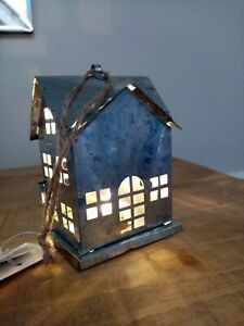 NORDIC STYLE LED METAL HOUSE CHRISTMAS DECORATION