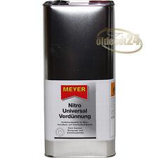 Meyer Chemie Nitro Universal Verdünnung Nitroverdünnung Nitro-Verdünnung 6 Liter