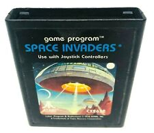 Space Invaders (Atari 2600, 1980) Cart Only, Tested