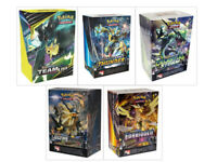 Pokemon TCG Sun & Moon Prerelease Kit Collection 5 Build & Battle Boxes Team Up